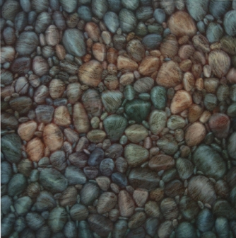 TM7246 Poem from Pebble Beach 36x36 oil on panel