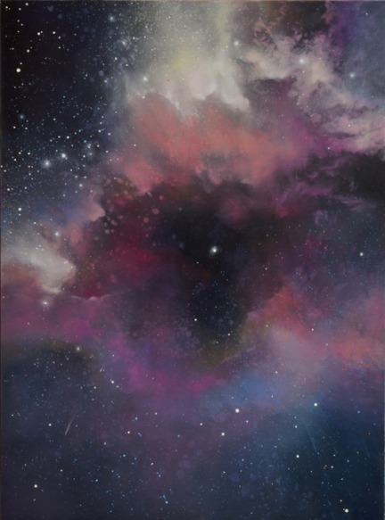 TM8313 Orchid Nebula 24x18 oil on panel