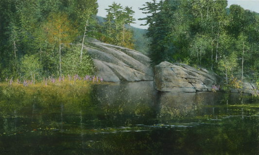 TM8296 From Still Waters 36x36 oil on panel