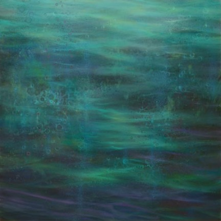 TM8301 Water Music - Summer's Song 30x30 oil on panel