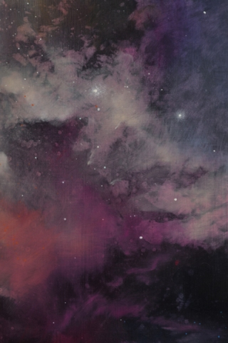 TM8313 Orchid Nebula - detail from upper right