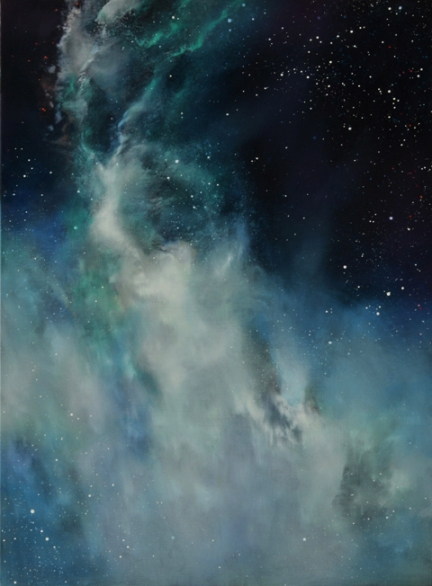 TM8314 Reflection Nebula #1 24x18 oil on panel