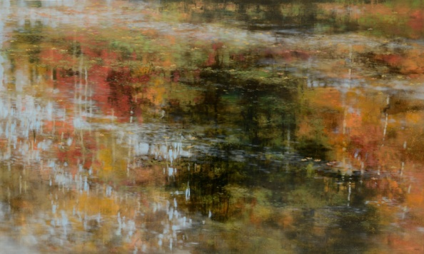 TM8572 September's Meditation 36x60 oil on panel