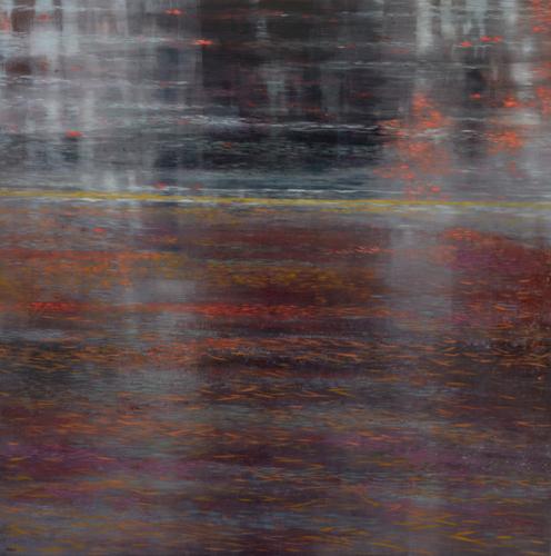 TM8614 Deep November 36x36 oil on panel