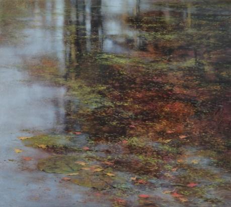 TM8399 Autumn Reverie 36x40 oil on panel