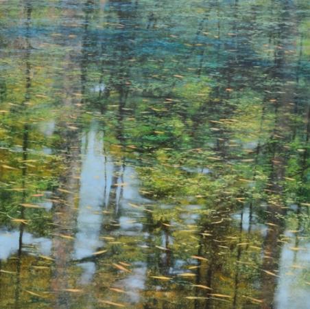 TM8438 Deepest Summer 36x36 oil on panel