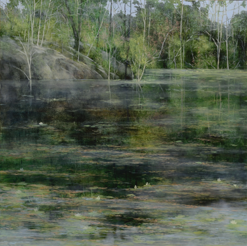 TM8454 Late Spring 36x36 oil on panel