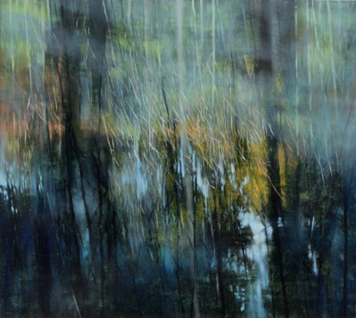 TM8455 Reflections #1 36x40 oil on panel