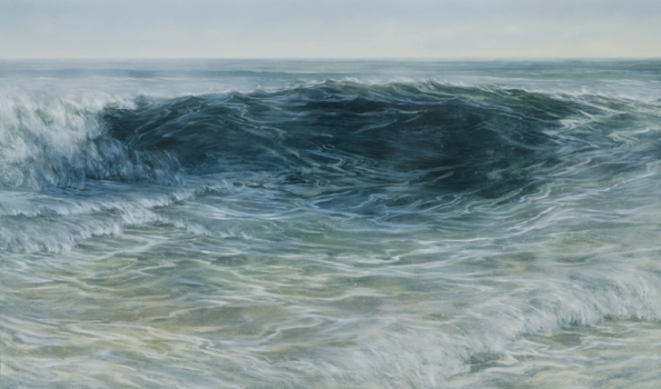 TM8467 The Backrush 30x50 oil on panel