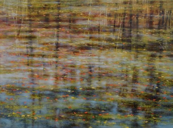 TM8479 October's Poem 36x48 oil on panel