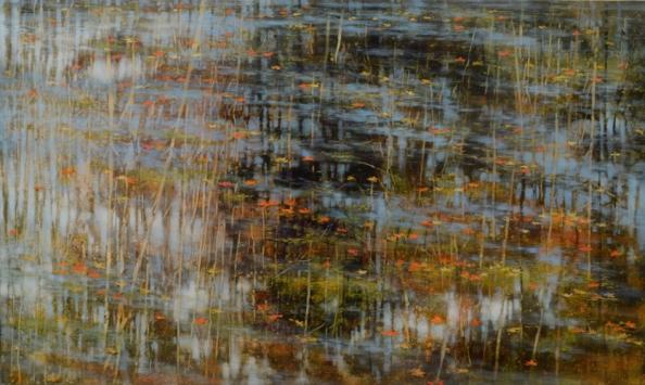 TM8506 September's Poem 30x50 oil on panel