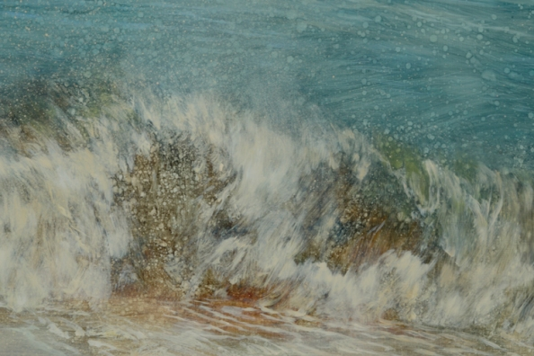 TM8318 From Nauset - detail of breaking, sand-loaded wave