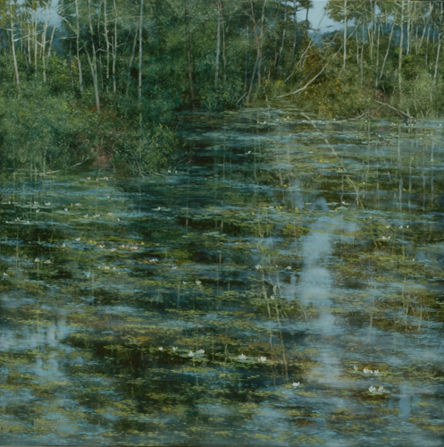 TM8538 Wetland Spring #1 36x36 oil on panel
