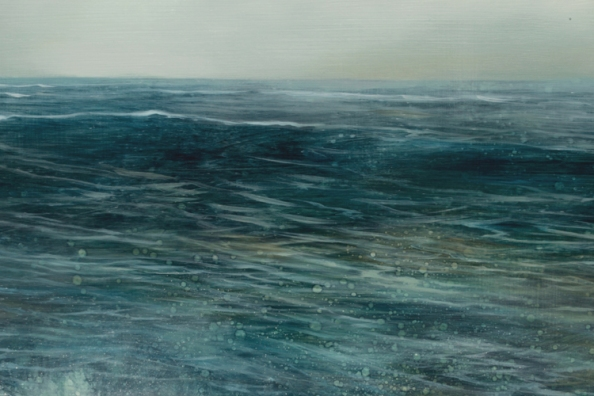 TM8539 A Song for July - detail of distant wave and disappearing horizon