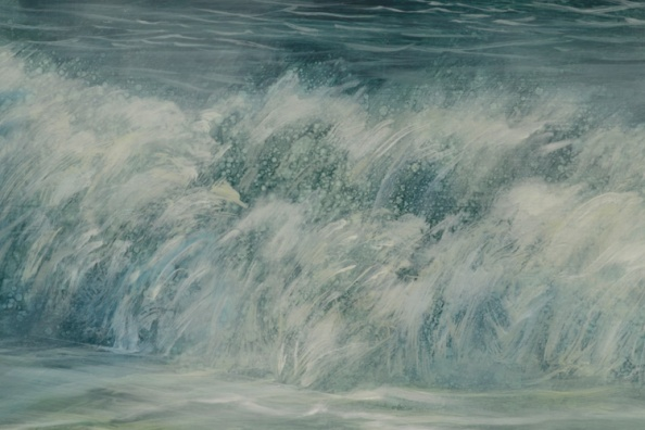 TM8541 Clearing -detail from breaking wave
