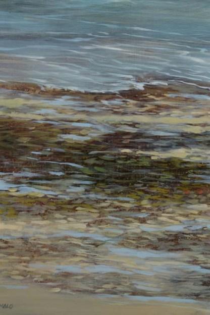 TM8574 September Morning - Wollaston - detail from lower left corner