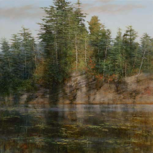 TM8581 A Quiet Place 36x36 oil on panel