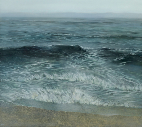 TM8591 My Gray Flannel Sea 36x40 oil on panel