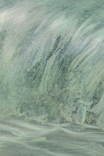 TM8613 The hours Pass - detail from wave, right side o painting