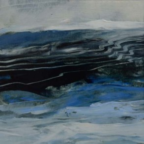 TM8666 Watching the Waves Come In - Winter #2 6x6 oil