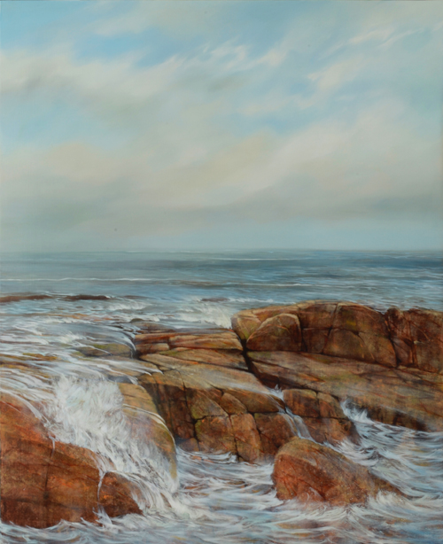 nc web TM8682 Encroaching Tide 44x36 oil on panel