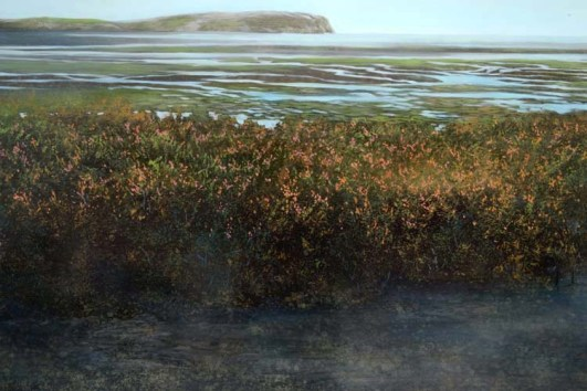 TM8692 Quiet Morning - detail across the tidal flats