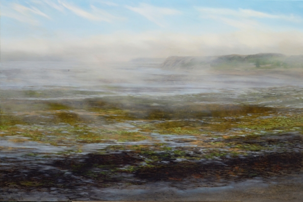 nc web TM8697 The Fog Withdraws 36x54 oil on panel