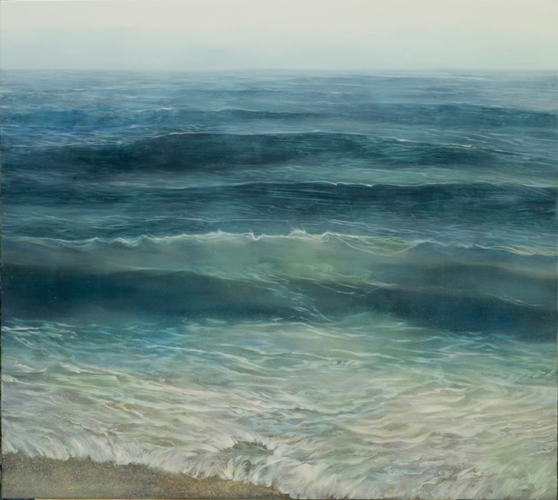 TM8775 Watching the Waves Roll In 36x40 oil on panel