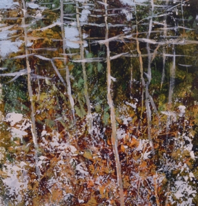 TM8830 Early Snow #2 6x6 oil on paper