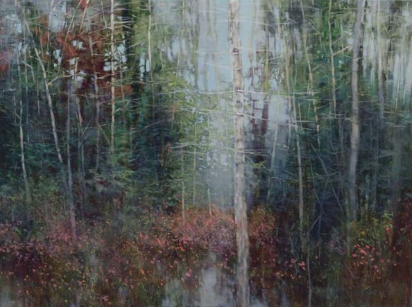 TM8908 Ode to a Quiet Rain 30x40 oil on panel