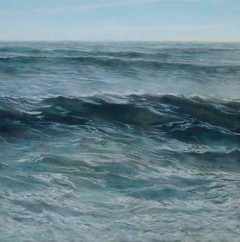 TM8922 The Restless Waves 36x36 oil on panel