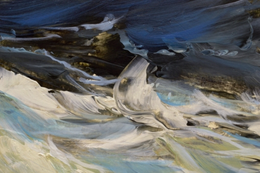 TM8929 Winter Waves #1 - detail from foreground