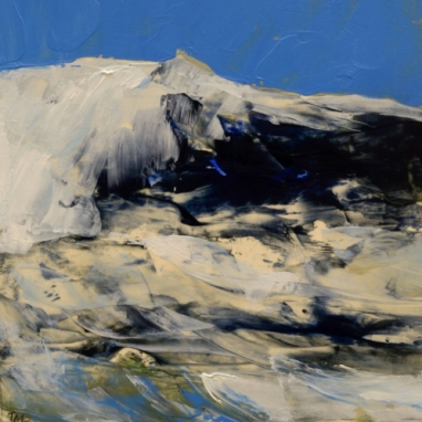 TM8931 Winter Waves #3 6x6 oil on paper