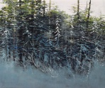 TM9393 Stopping by the Woods 30x36 oil on panel
