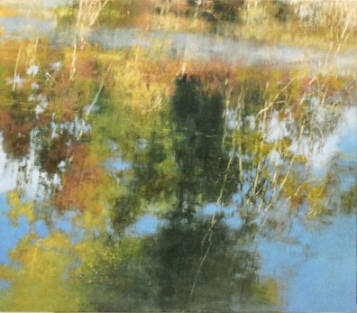 TM9403 Afternoon at the Pond 42x48 oil on panel