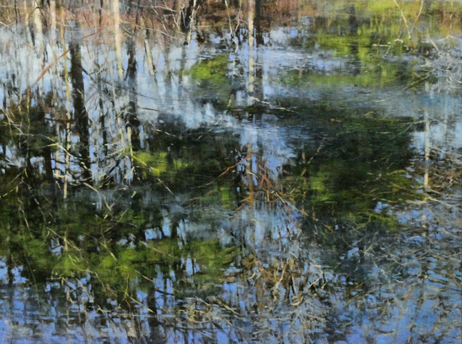 nc web TM9526 April's Reflections 36x48 oil on panel